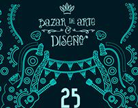 Cartel Bazar de Arte y Diseño