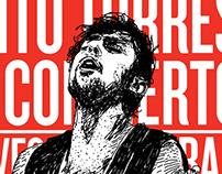 Phito Torres en concierto
