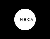 MOCA Rebranding / Identity System