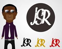 JSR (Musical Artist) Logo and Character Design