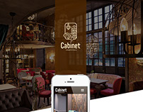 CABINET. Website design