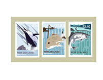 NZ Tourist Attraction Stamps