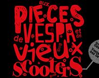Affiche Bourse aux pièces Vespa 2013