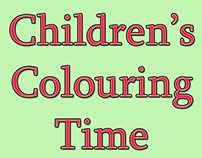 Children's Colouring Time