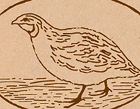 "logo for quail eggs farm ""Ptichiy Dvorik""(Yardbirds)"
