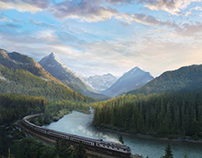 Matte painting for advertising print vol.1