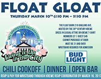 Springtime Tallahassee Float Gloat Invitation