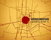 Movie Poster : Gangs of Vadakkumnathan