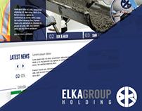 ELKA group - Web Design // UX - UI