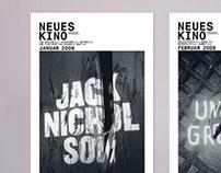 Neues Kino Basel – Plakatserie für Filmreihen