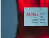 Nosferatu Blood Bag Booklet and Posters 2000
