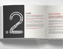 Catálogo de empresa (Maquetación)
