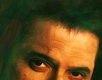 Anil Kapoor & Sonam Kapoor Digital Painting
