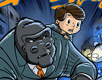 Comic - Max & The Gorilla Goon Squad