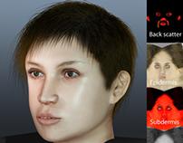 3D Face modelling in maya