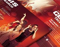 Church Marketing Flyer Template Bundle Vol 043