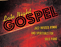 Music Book Cover - Late Night Gospel