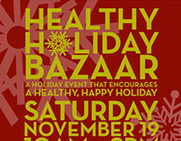 Healthy Holiday Bazaar Flyer