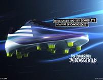 Adidas F50 Social Media Banner