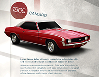 Chevrolet 100 Years Event - Email marketing project