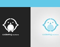 Logo Concept - Codewing Solutions