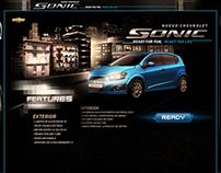 Chevrolet Sonic Twitter App
