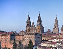 Santiago de Compostela_Panoramica