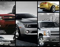Chevrolet Experience - Site Design
