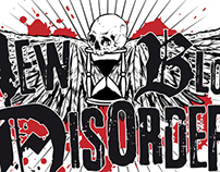 NEW BLOOD DISORDER | logo + CD + t-shirt