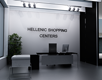 Hellenic Shopping Centers.gr Website Design