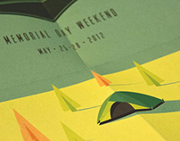 Sasquatch Music Festival Poster + Folded Mailer