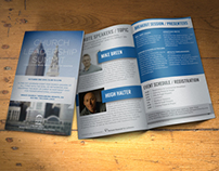 Brochure for Non-Profit Event