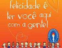 Banner Boas Vindas 2013 - Escola Educandário Goiás