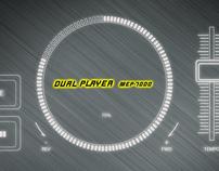 Pioneer dual player