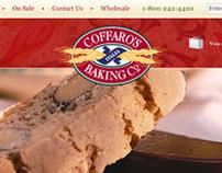 Coffaros Bakery - eCommerce Website Design