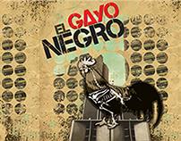 El Gayo Negro, arte para portada