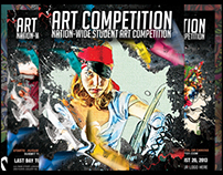 Art Competition Flyers