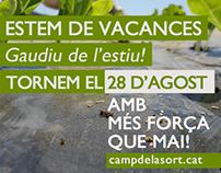 Newsletter Agosto Campdelasort