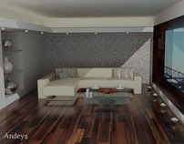 Interior Design Residential Unit-3D modelling