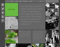 Ikebana - WP Portfolio Theme