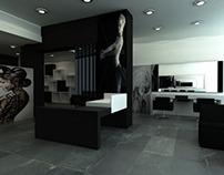 Hair salon_black & white