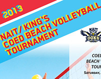 Poster: 2013 Coed Beach Volleyball Tournament