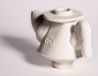 Kacsa teapot