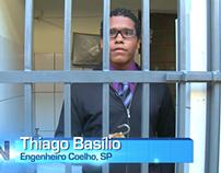 Reportagem: Falta de segurança no bairro Universitários