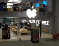 Squatties Apple Store Scene