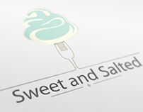 Sweet and Salted logo design