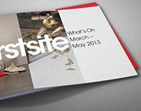 What's on guide; Firstsite Project