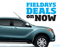 Press Ads - Mazda Fieldays Deals