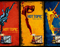 Hot Topic banner set