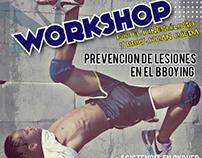 Flyer Workshop Break dance